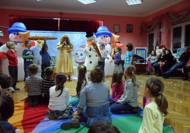 Zabawa Mikołajkowa 2013 w RDK - filia Drabinianka